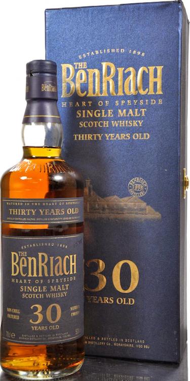 The BenRiach 30 YO