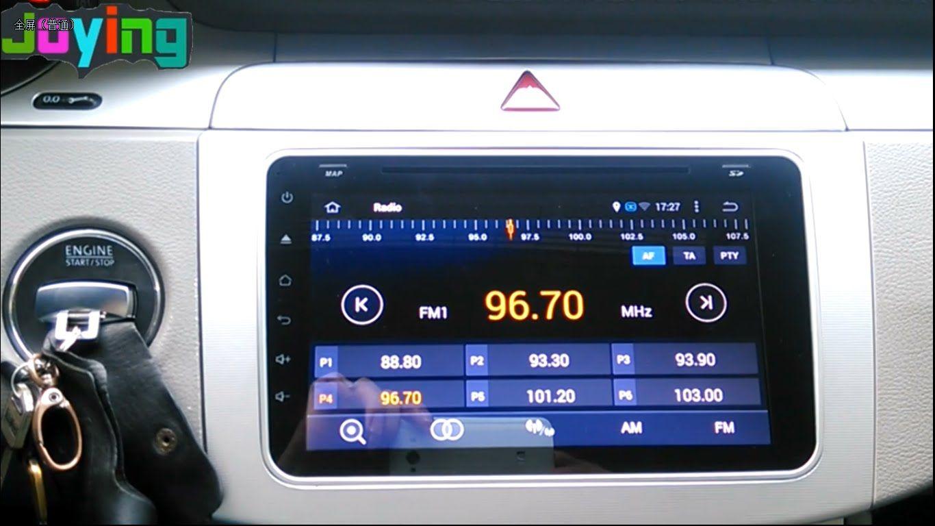Joying android car Radio dvd play open the radio FM