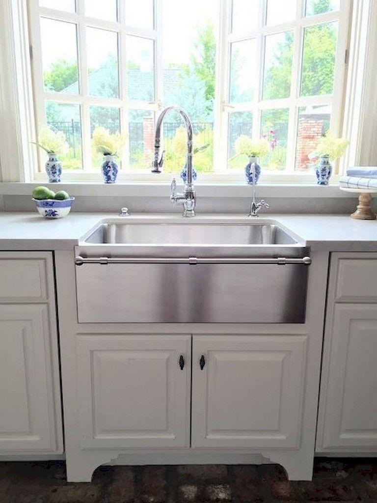 67 cool modern farmhouse kitchen sink decor ideas farmhouse sink kitchen kitchen sink decor on kitchen sink ideas id=99288