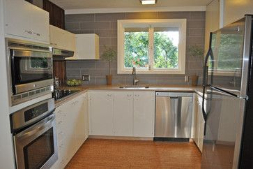 Best Mid Century Modern Ranch Style Kitchen Mid Century 400 x 300