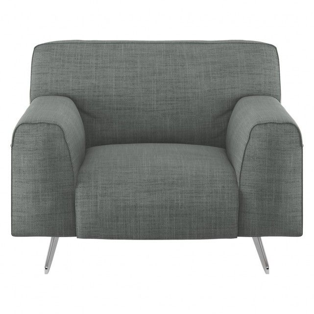 Captivating The Fabulous Flyn Grey Fabric Armchair References Classic Designs With  Padded Arms, Plump Cushions And Pedestal Legs. Buy Now At Habitat UK.