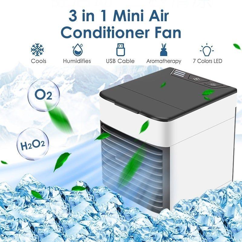 Portable Air Conditioner Cooler Fan Air Cooler Desktop