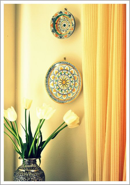 Plates On The Wall My Decor Style In 2019 Indian Home