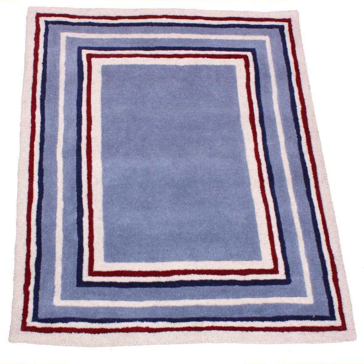Boys Stripe Border Rug Border rugs, Childrens rugs