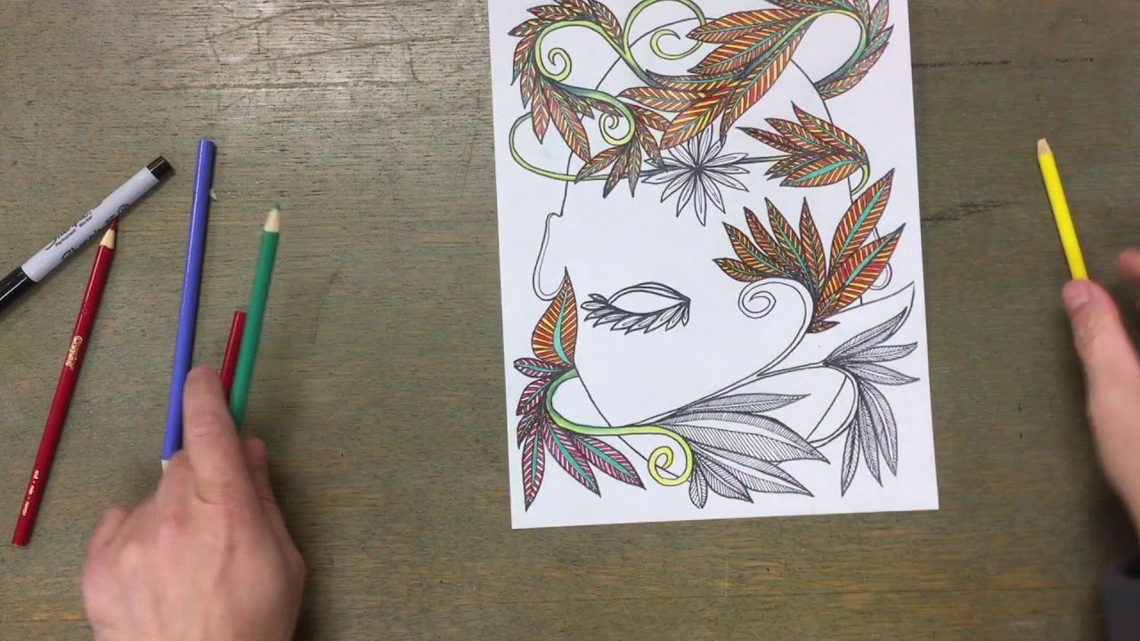 Coloring Page Artist Colors Own Coloring Page Coloring Pages