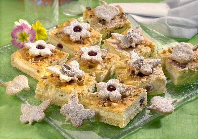 Vintage Foto Kunstdruck Ausgefallene Kuchen H ttenk se Easter Bonbon Quark Rosinen von Profimedia F Online