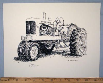 allis chalmers tractor coloring pages - photo#43