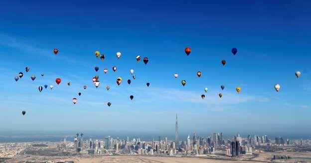 Dubái, Emiratos Árabes Unidos - REUTERS/Karim Sahib/Pool