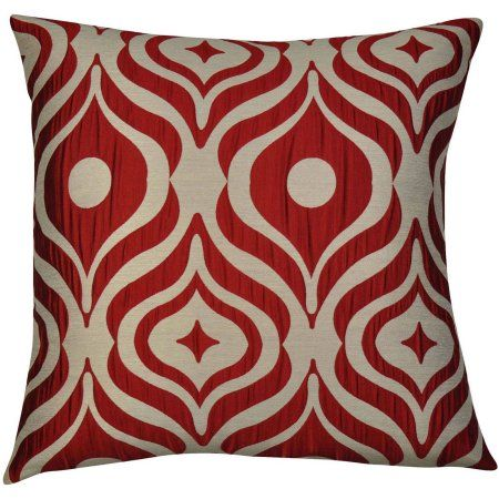 Chic Home Cleo Set Of 40 Luxury Decorative Square Pillows Walmart Best Red Decorative Pillows For Bed