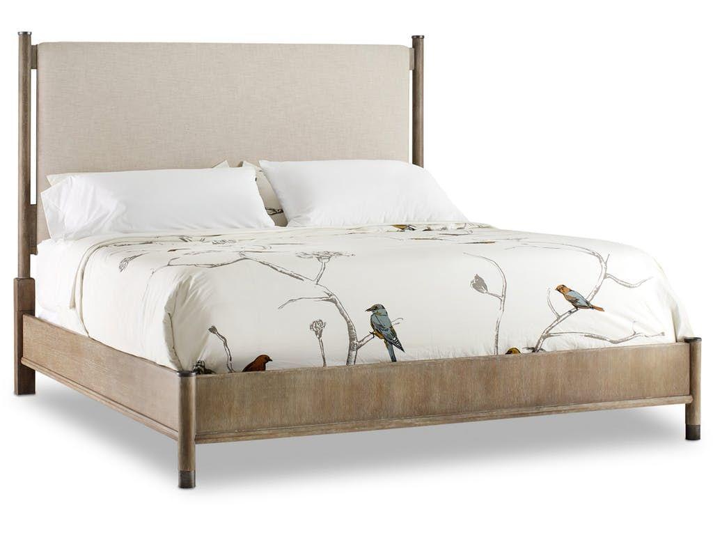 Shop for hooker furniture affinity king upholstered bed