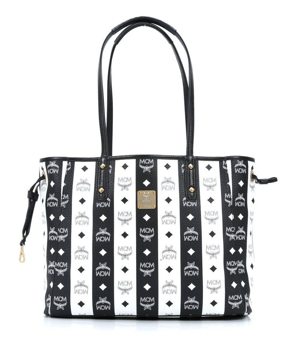 Wardow Com Tasche Von Mcm Shopper Project Visetos Shopper Mehrfarbig 33 Cm Mcm Bags Money Bag Bags