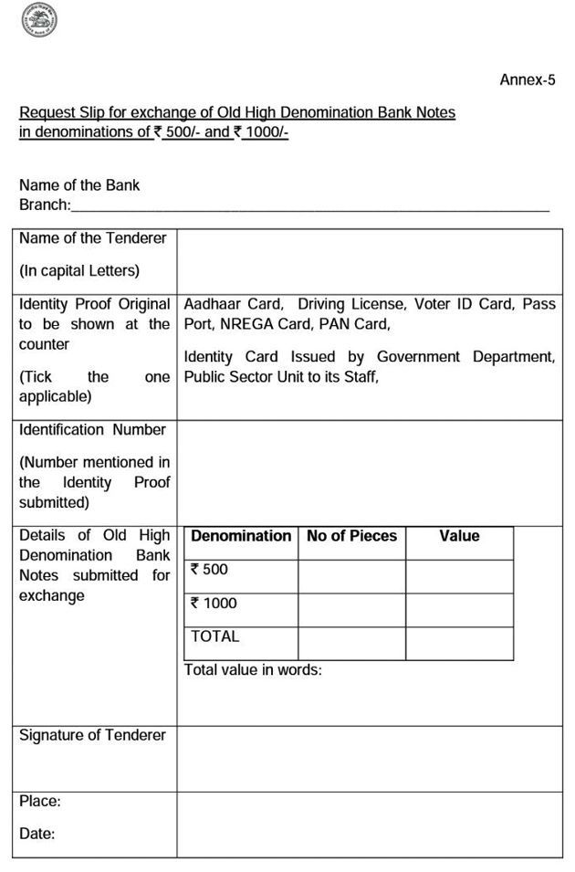 going the bank exchange old notes things you should keep report - sample report in pdf