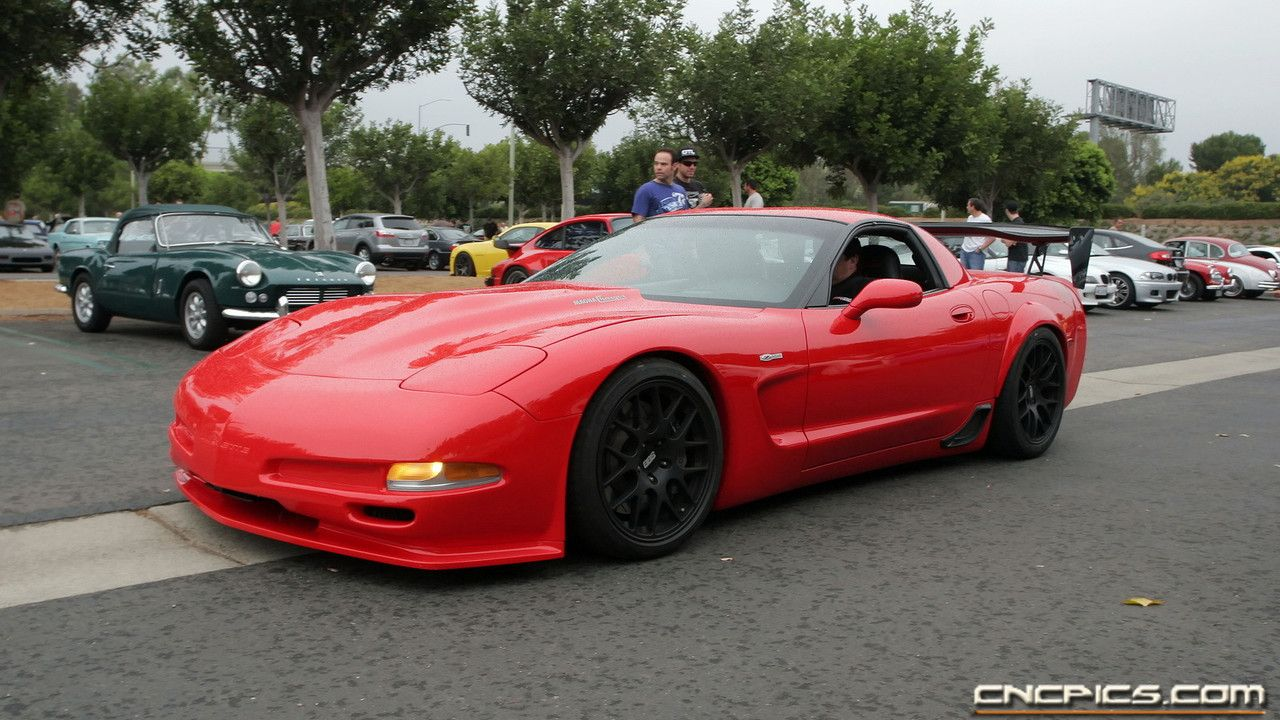 Flared Fenders On C5 Z06 Chevrolet Corvette Stingray Chevrolet Corvette Red Corvette