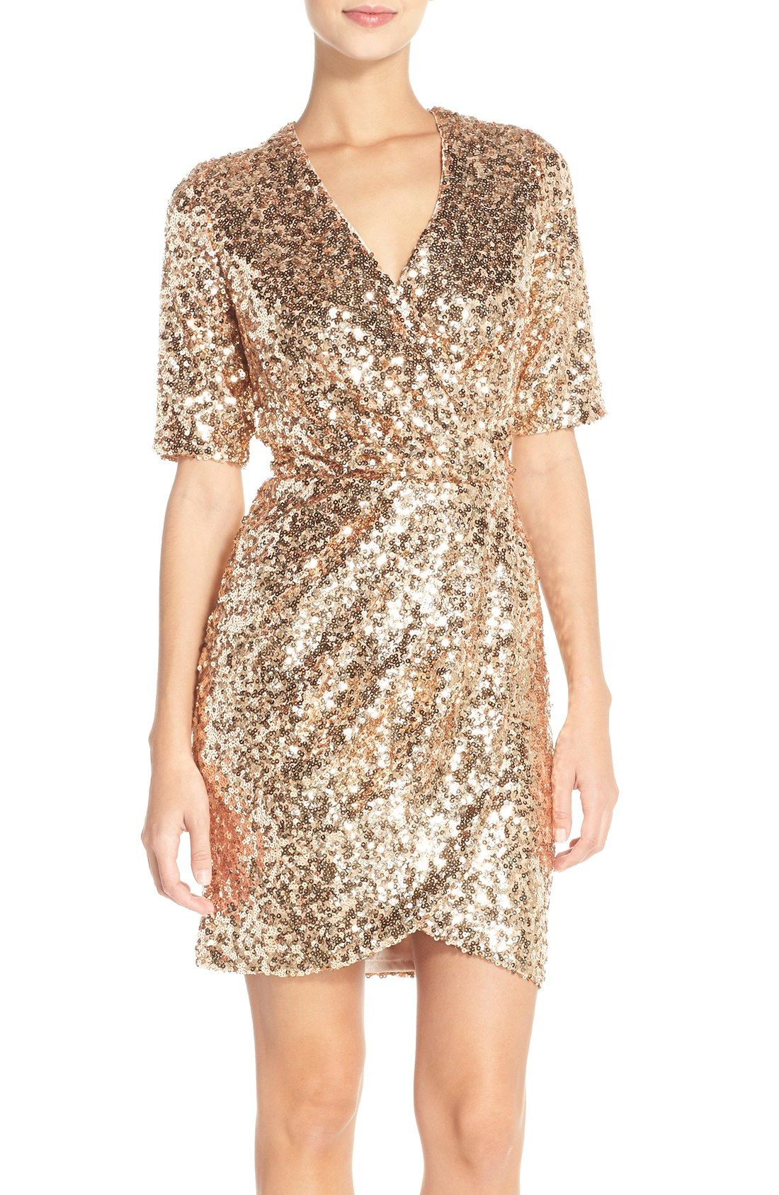 A Collection Of Dresses For The Holiday Party Season Styles For Christmas Parties Dresses Cocktail Dress Wedding Rose Gold Cocktail Dress Gold Cocktail Dress