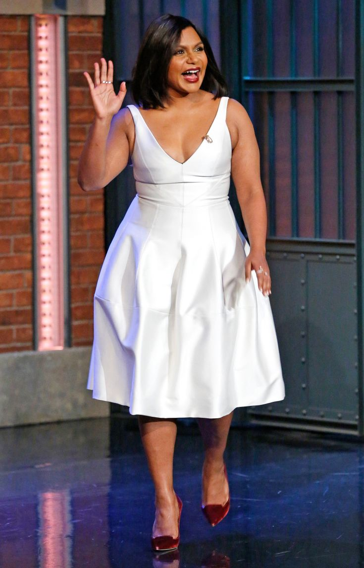 Mindy Kaling Eve Outfit New Years Eve Outfits Nice Dresses