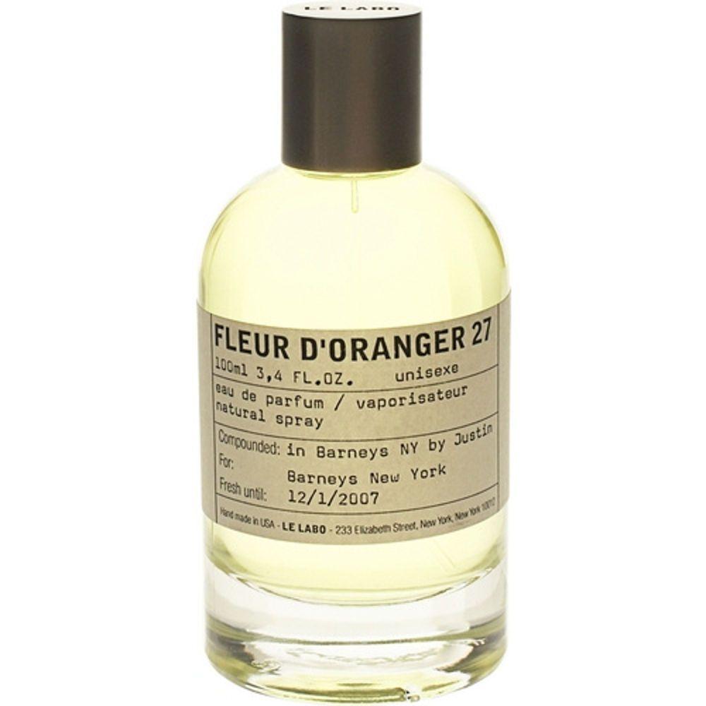 Love Le Labo Fleur D Oranger 27 Favourite Fragrance