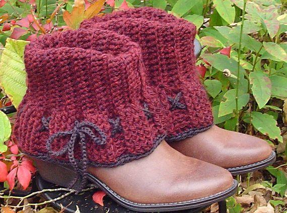 Free Crochet Boot Warmer Pattern   CROCHET patrón para \
