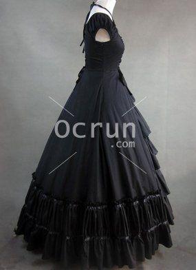 Schwarze kleider gothic