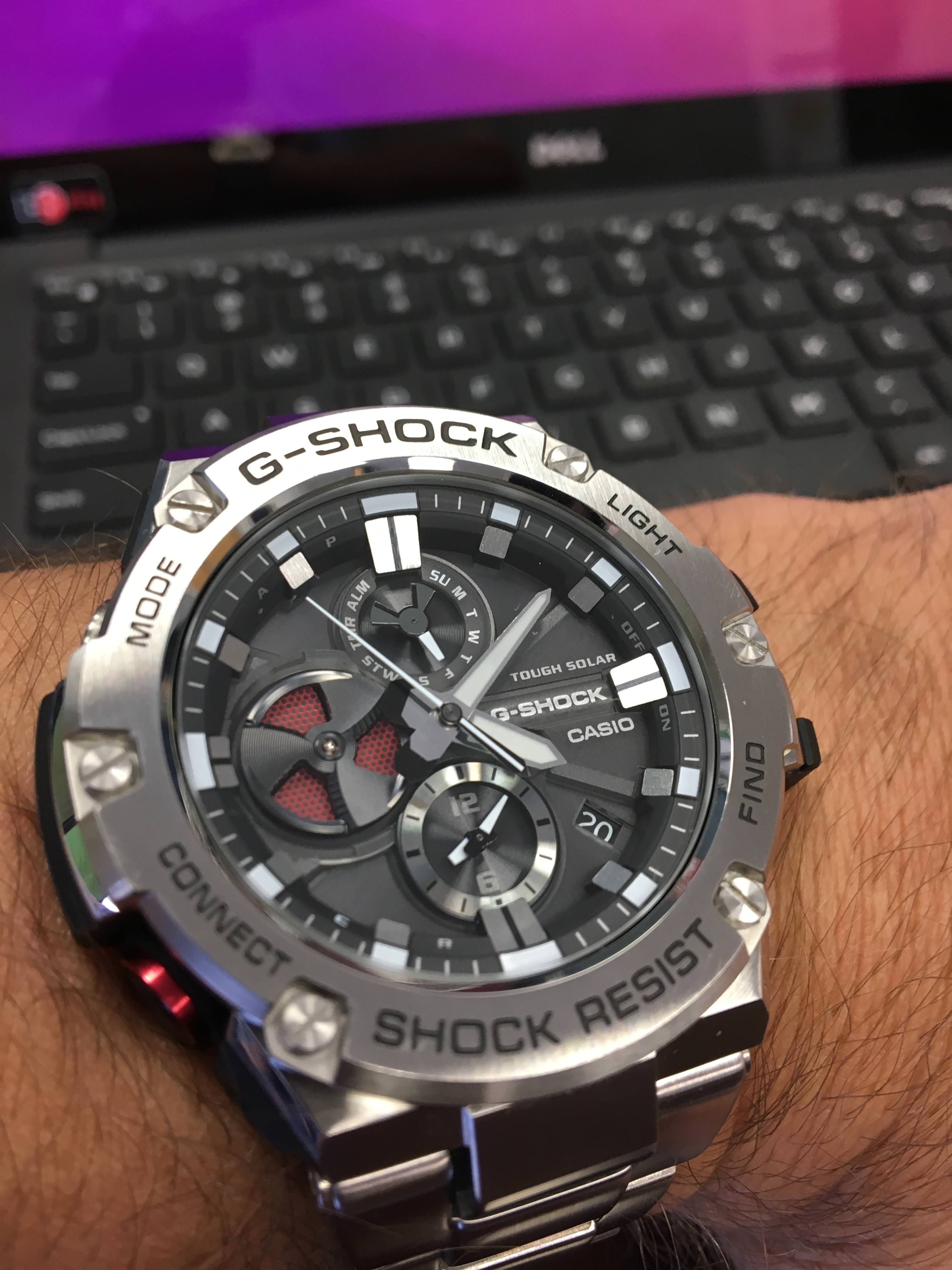 G-Shock  Had this for over a month and still my favorite. G-Steel GTS-B100 102e75400e1c