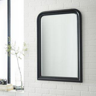 Miroir Rectangulaire Voltaire Noir L 60 X H 90 Cm En 2020 Avec Images Miroir Rectangulaire Miroir Ovale Miroir