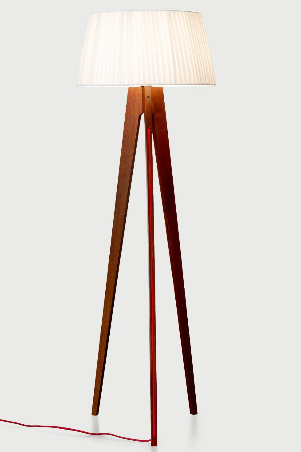 rote stehlampe rote stehlampe von arredoluce er with rote. Black Bedroom Furniture Sets. Home Design Ideas