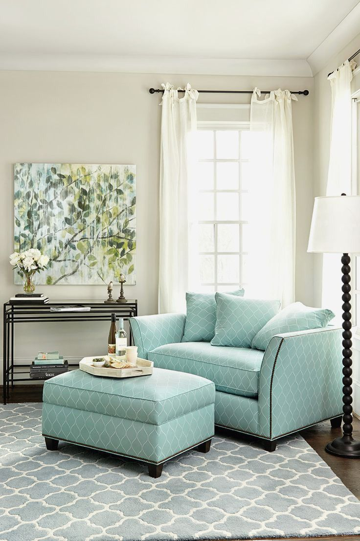 Living Room:Fresh Oversized Living Room Chair With Ottoman Style ...