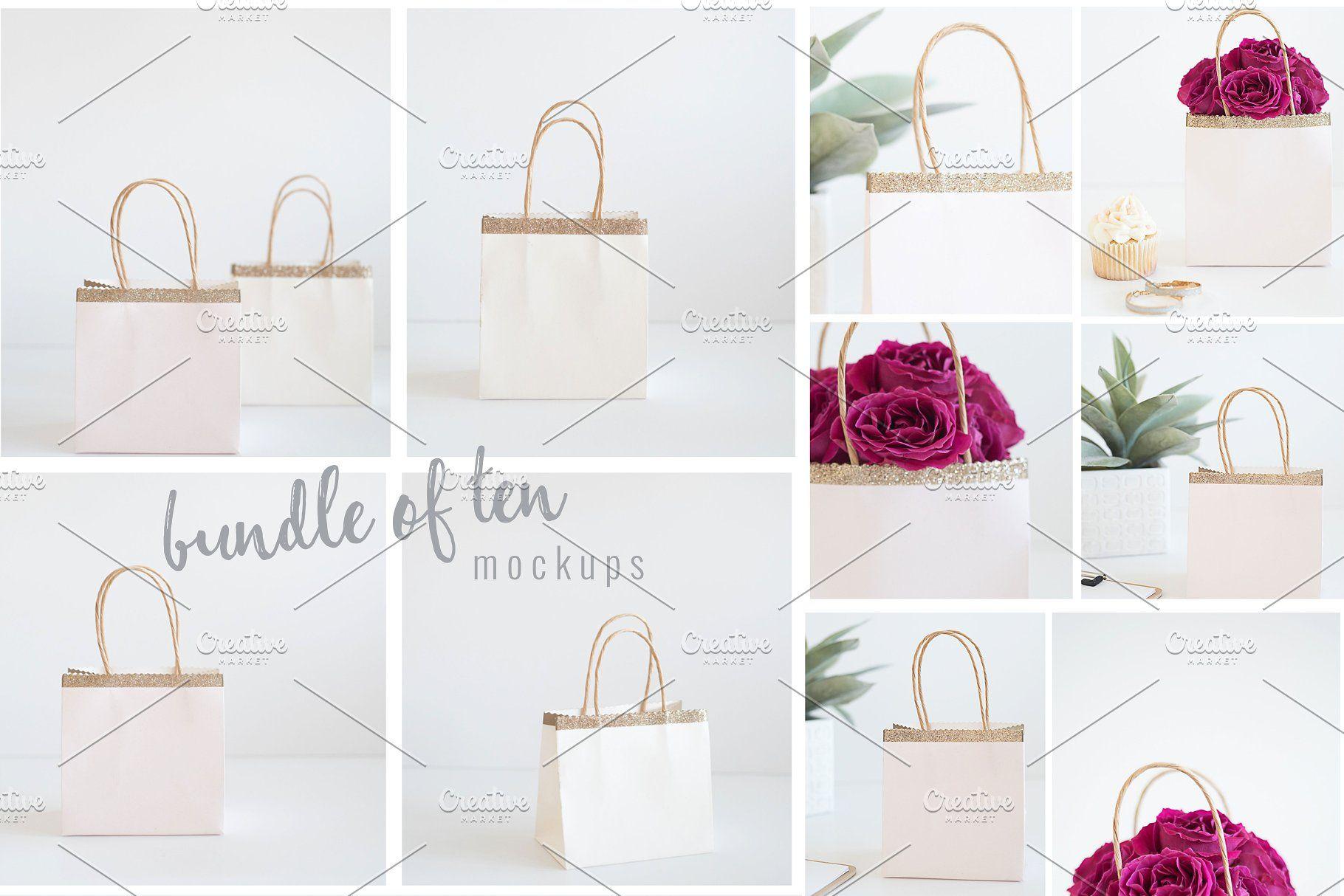 Download Gift Bag Stock Photos Mockups Stock Bag Gift Product Branding Design Inspiration Design Assets Branding Design