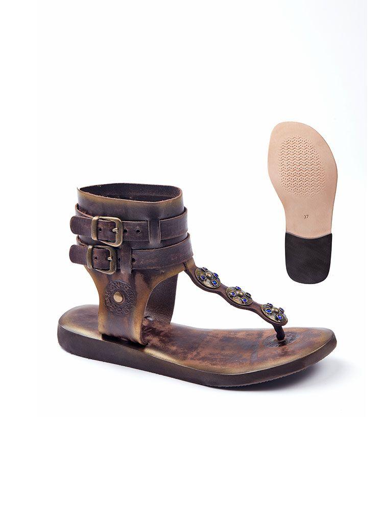 3300075da8f334 Ankle Wrap Gladiator Sandals