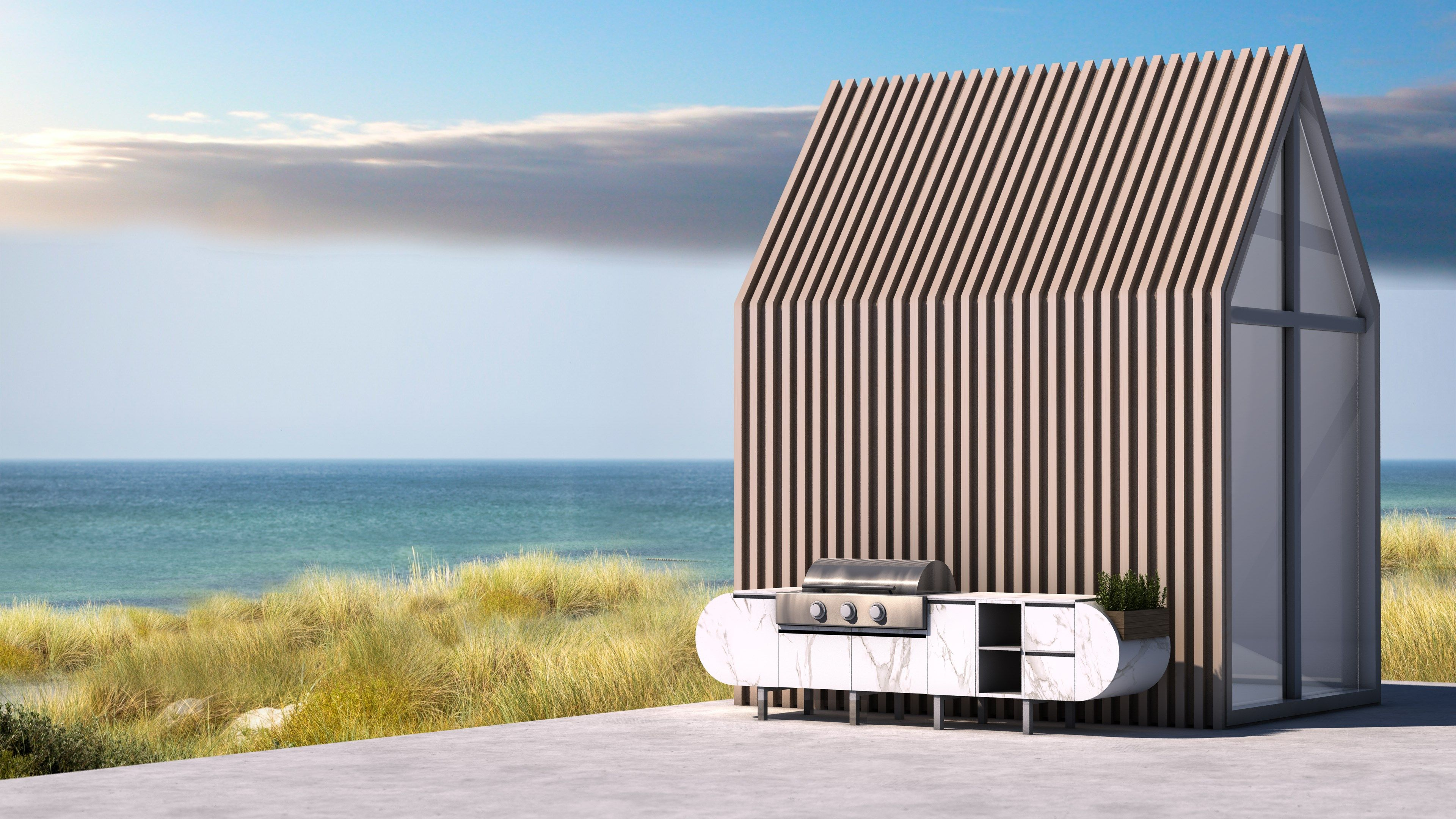 ASA-D2: the modular outdoor kitchen designed by Daniel Germani ...