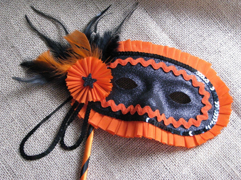 vintage inspired halloween masquerade mask. Halloween