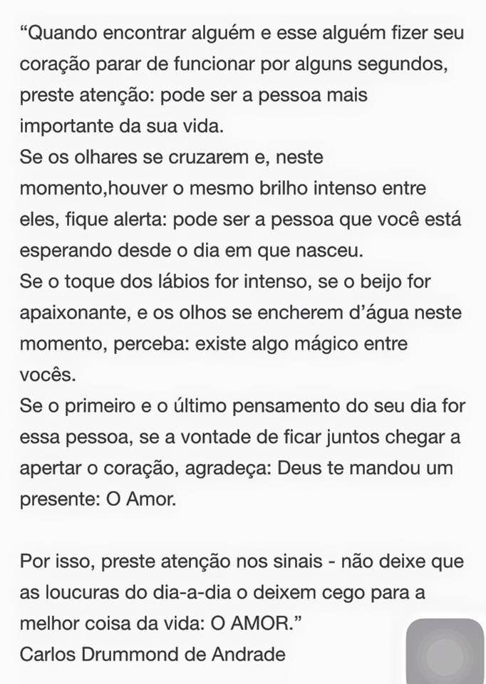 O Amor Carlos Drummond De Andrade Frases Poems Portuguese E