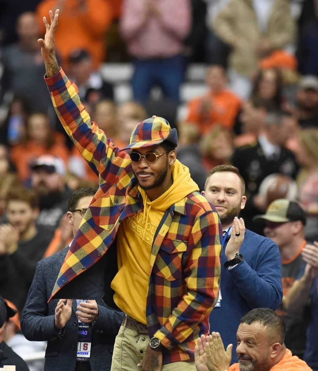 """MORE TH>N STATS on Instagram """"Carmeloanthony wore a"""