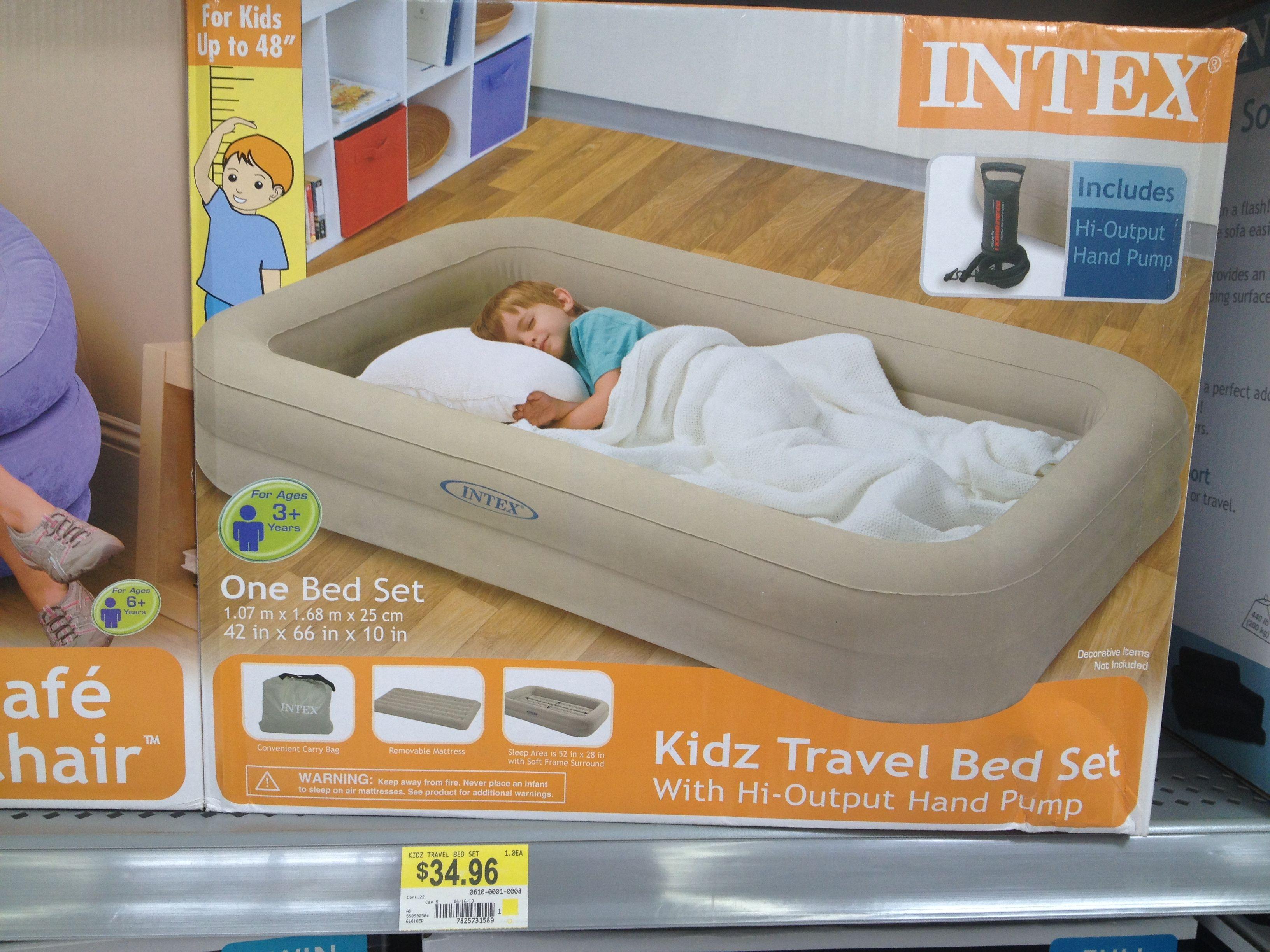 intex blow up air mattress from walmart. this has great reviews and