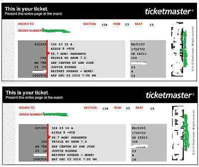2 Tickets 99.7 Triple Ho Show 12/3 SAP Center San Jose  http://dlvr.it/MgTX8Cpic.twitter.com/hiIImUd0kV