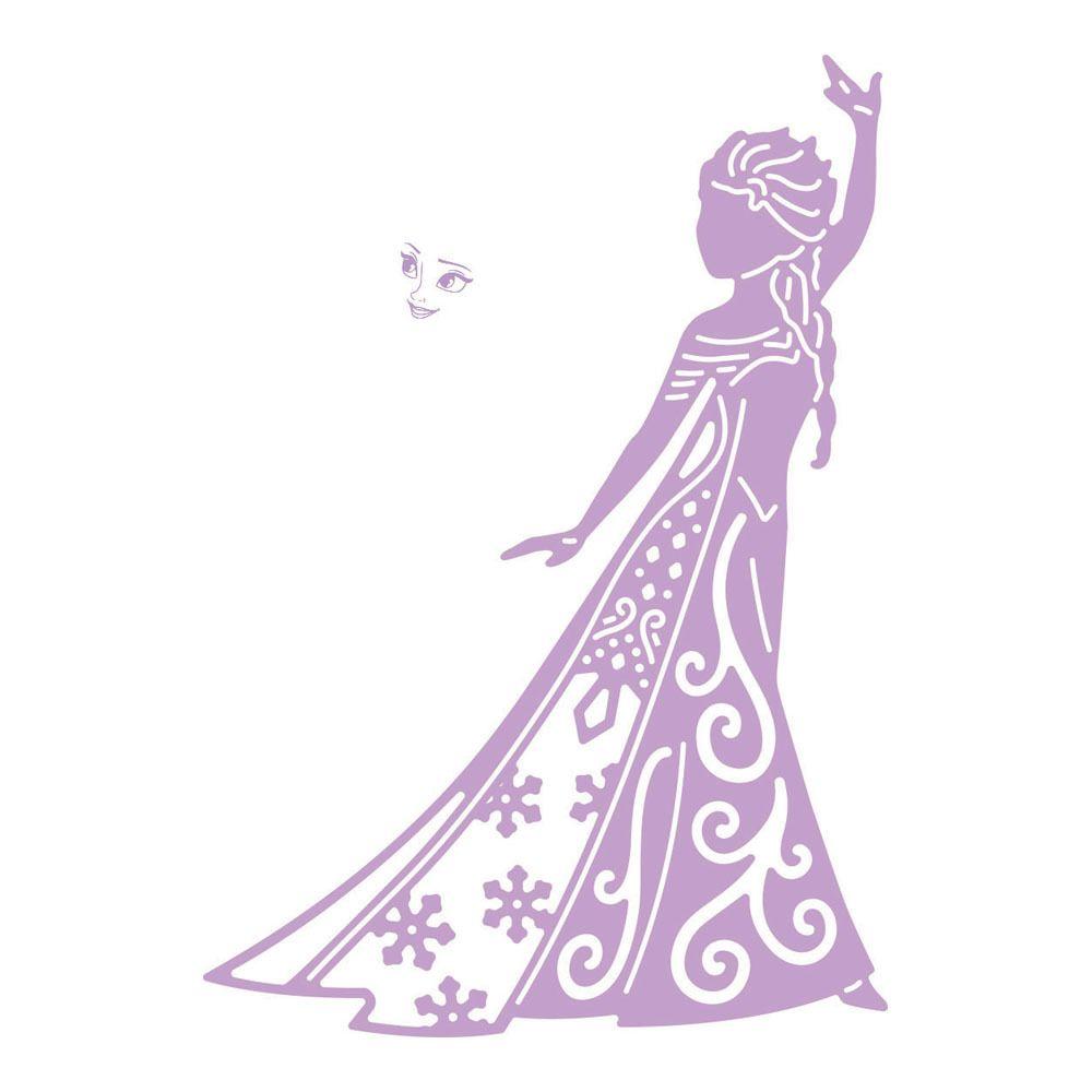 Photo of Tattered Lace Dies -Disney Frozen Elsa Die + Face Stamp DIS0254-DL007 FREE SHIPP…