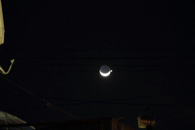Lua de Domingo muito bonita 08/09/2013