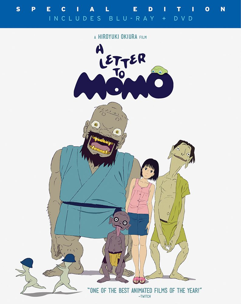 Letter to Momo, A DVD/Blu-ray (Hyb) #RightStuf2014