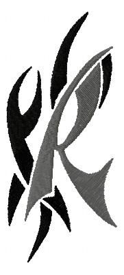 Related Pictures Letter R Tattoo Designs Diamond A Funny