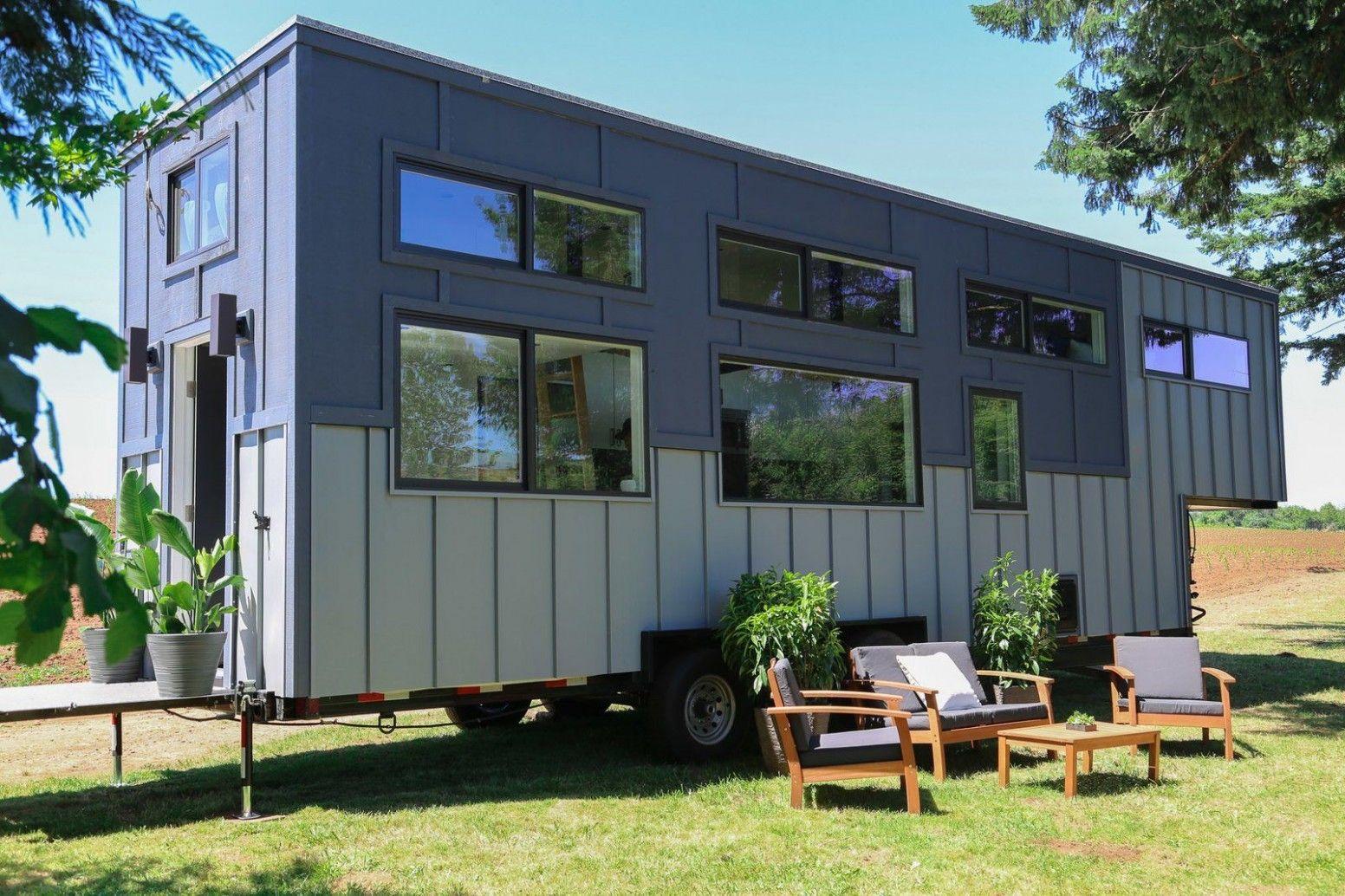 Modern Gooseneck Tiny House