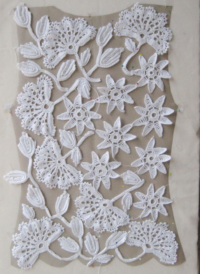 Ingrids Kreativ Blog: Irish crochet Top | Design | Pinterest ...