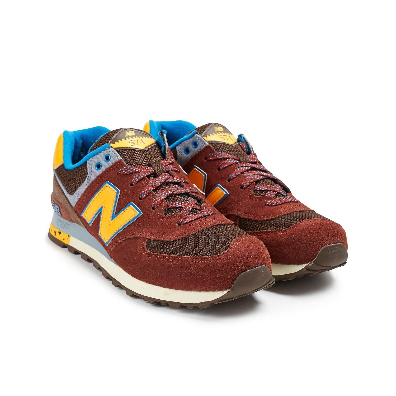 New Balance ML574 Suede/Textile Uomo | Sneaker, Scamosciato, New ...