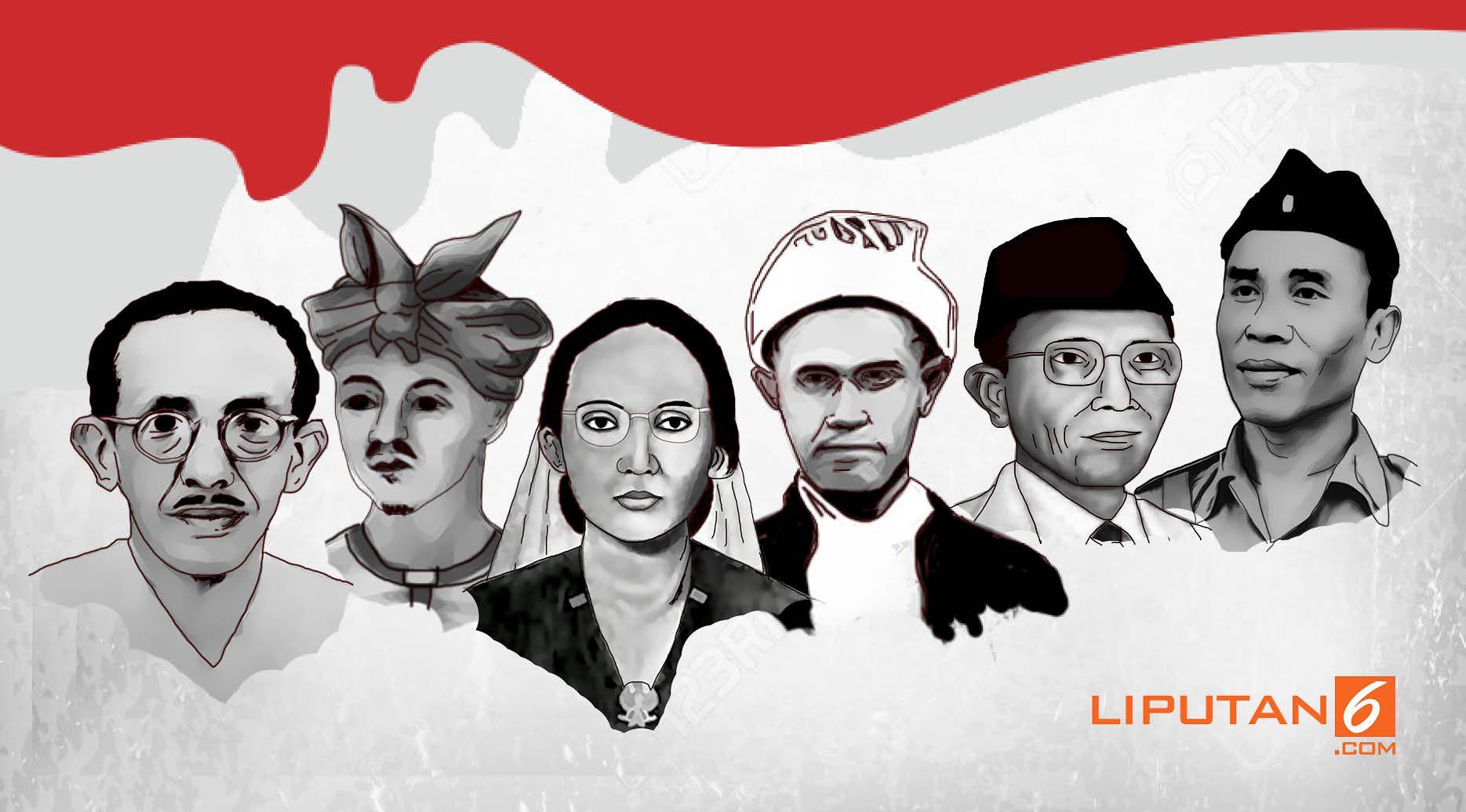 Gambar-gambar Pahlawan Indonesia