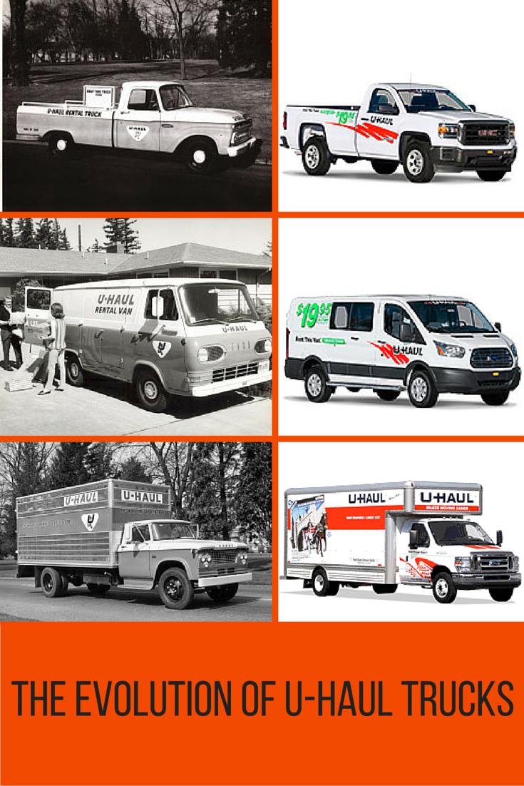 The Evolution Of U Haul Trucks My U Haul Story U Haul Truck Haul Trucks