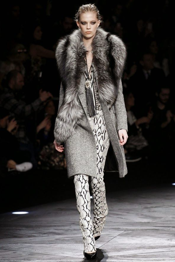 Comportamento  Moda: Roberto Cavalli Fall/Winter 2014-2015 Fashion Show...