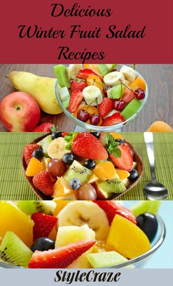 Top 5 Delicious Winter Fruit Salad Recipes