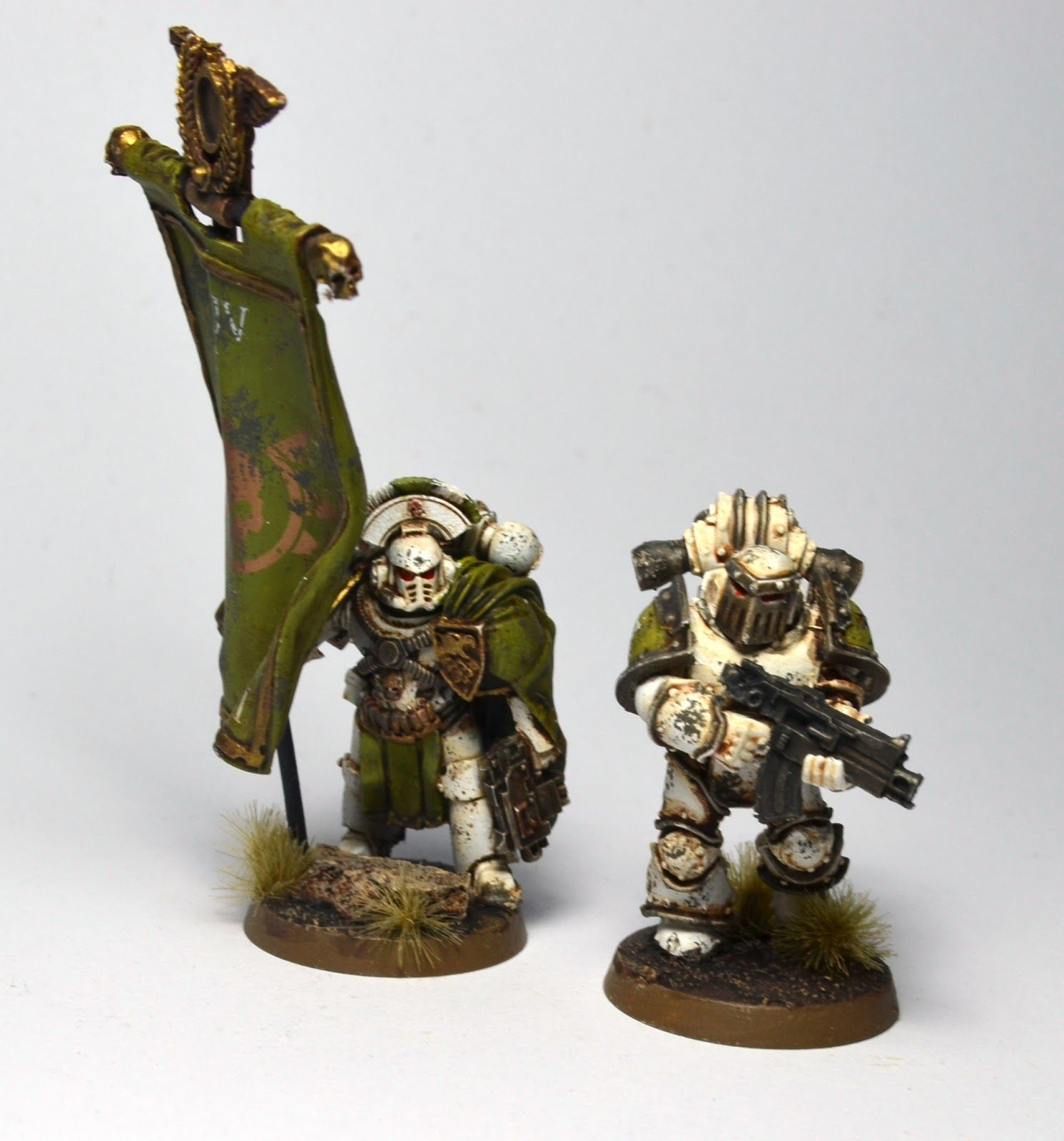 From the Sons of Dorn blog; pre heresy Death Guard.