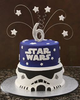 Star Wars Cake Oh I Love The Storm Trooper On This One