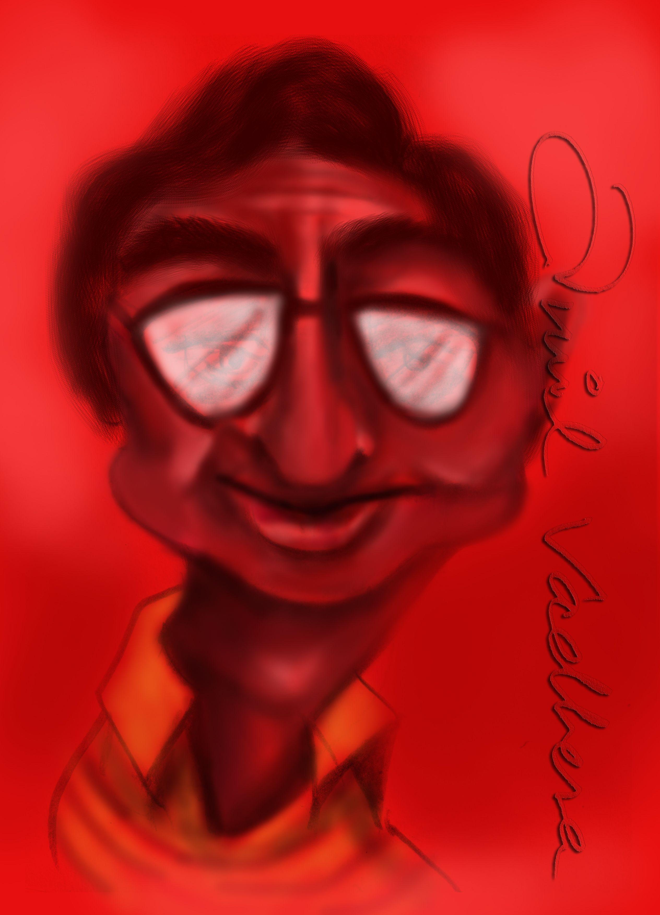 Digital cartoon character design by Anil Vadhera