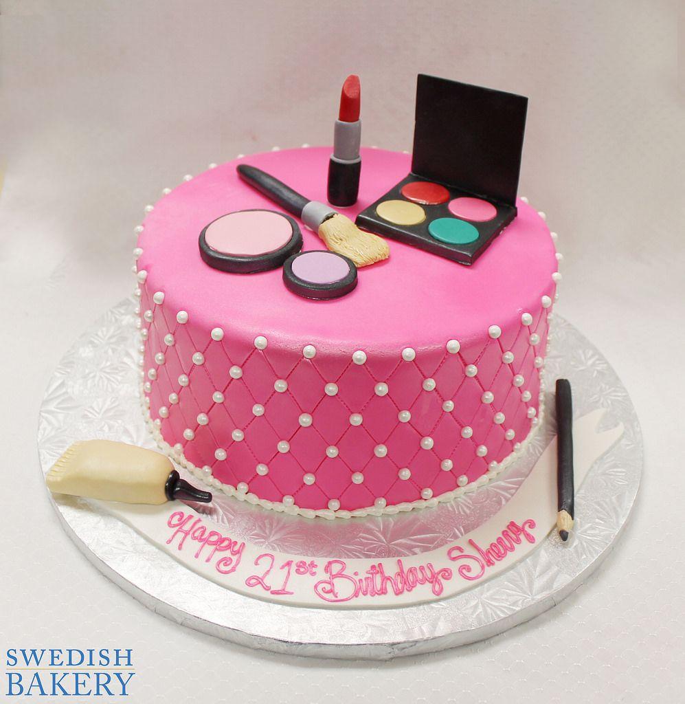 Makeup Party Celebration cakes, Celebrations and Makeup