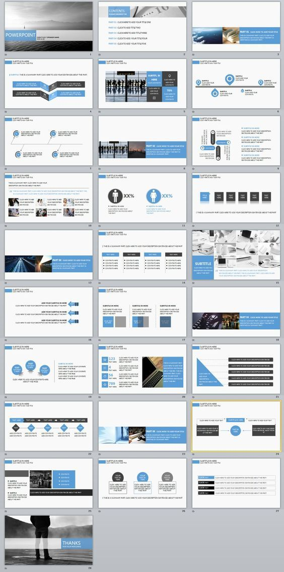 28+ company charts report PowerPoint template Business company